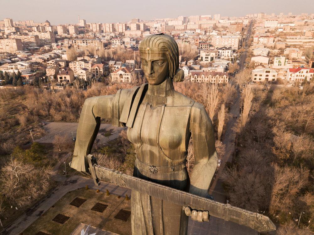 Mother Armenia Memorial Statue