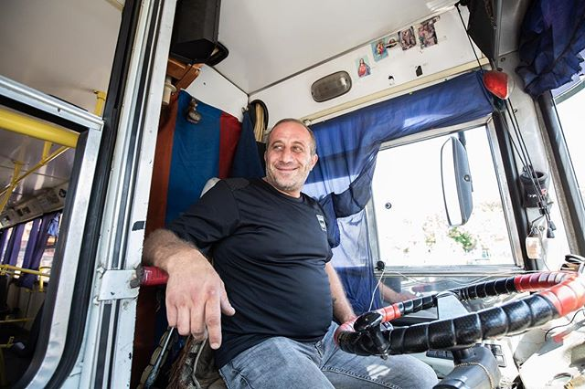 Many of the drivers are working just to take care of their families however there are some who are working just for fun and extra money and they enjoy their job and proud of be a trolleybus driver. _________________________ #thearmeniatimes