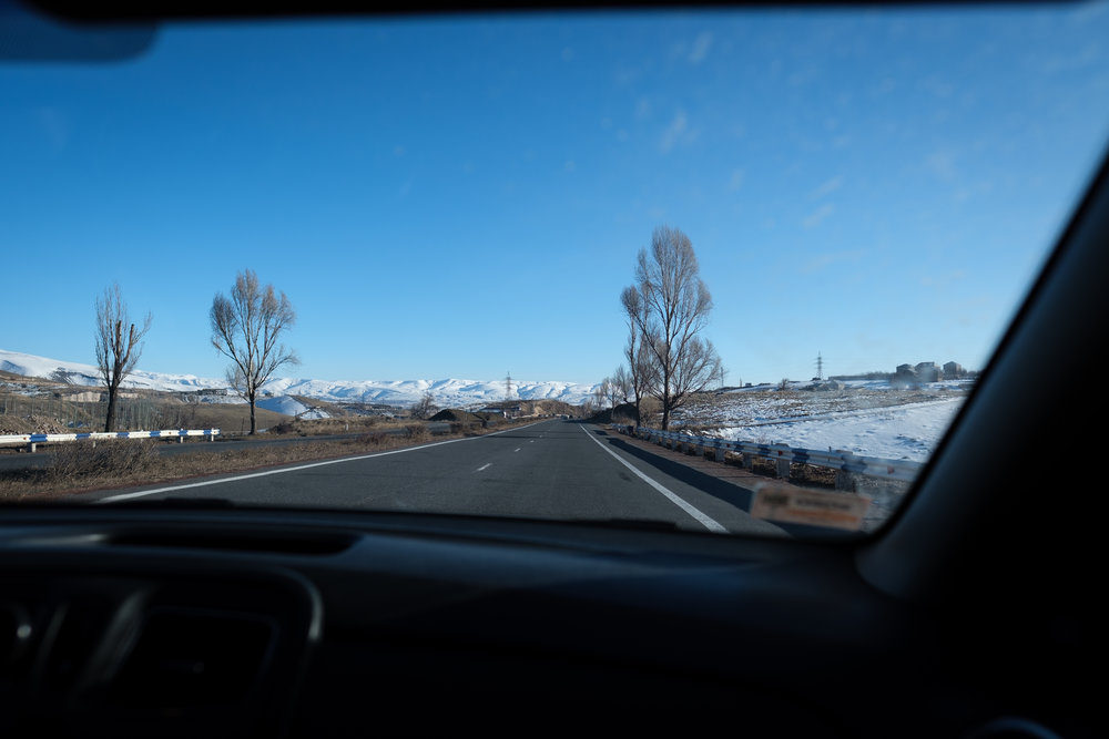 On the road to Vardenis