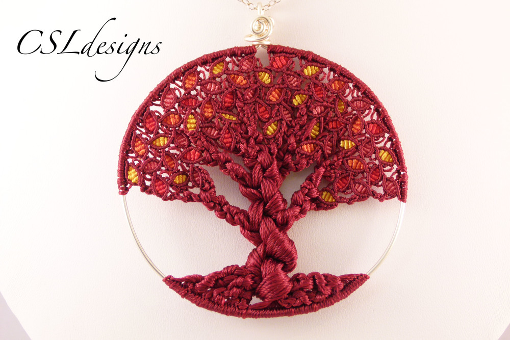 Micro macrame autumn tree of life close.jpg