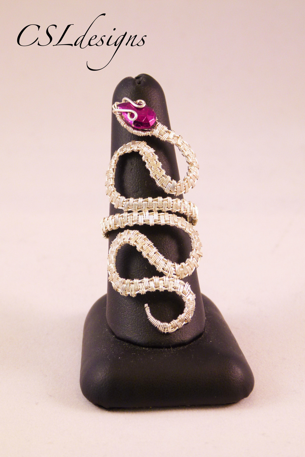 Wirework swirly snake ring.jpg