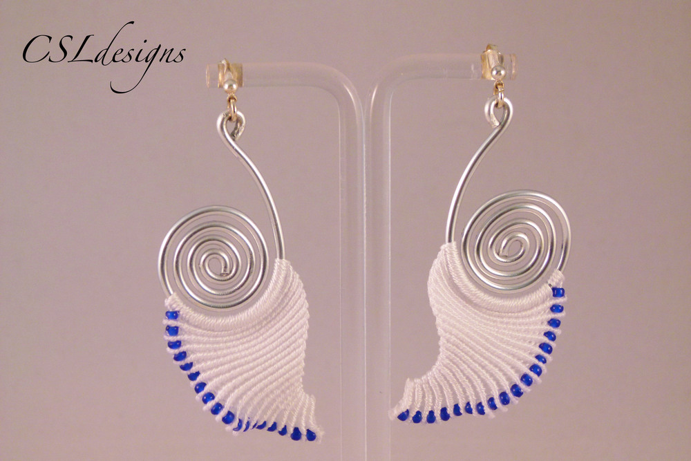 Angelic micro macrame earrings blue.jpg