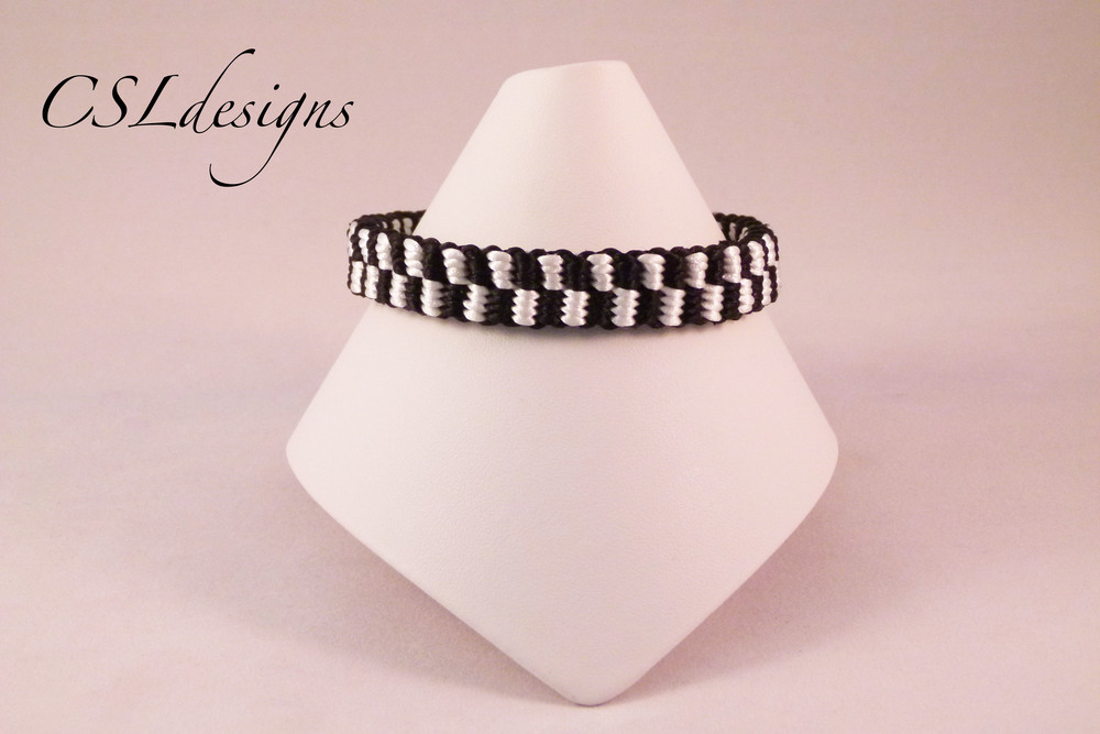 Checker board kumihimo braid front full.jpg