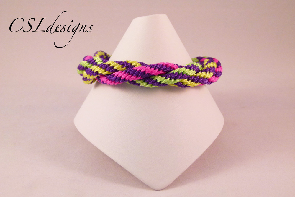 Multi colour basic kumihimo braid neon front full.jpg