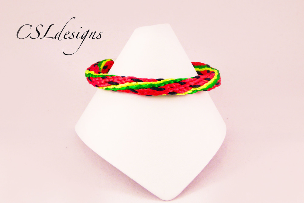 Watermelon kumihimo braid front full.jpg