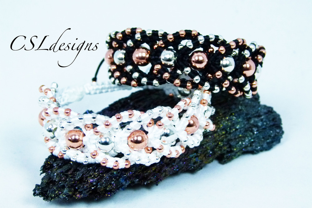 Beaded intertwining herringbone macrame bracelet thumbnail.jpg