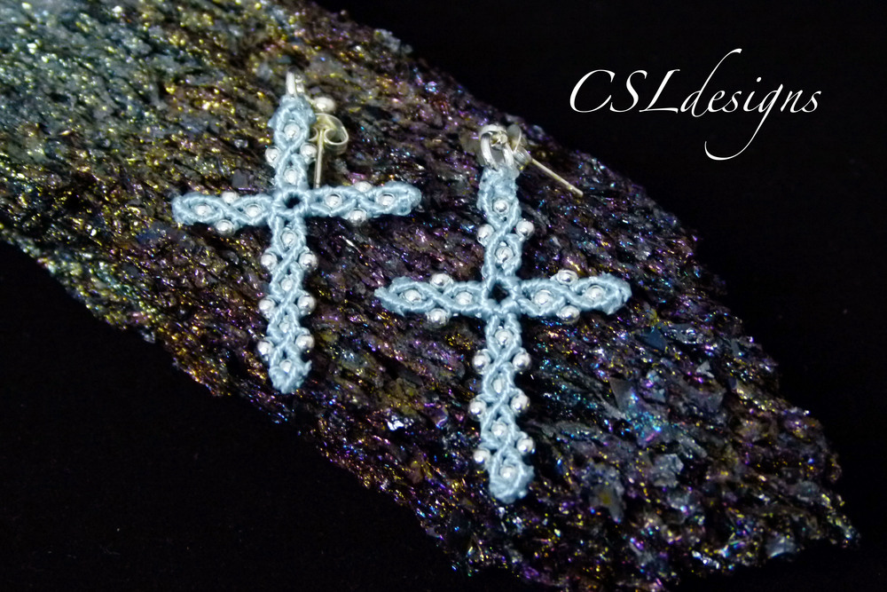 Micro macrame cross earrings thumbnail.jpg