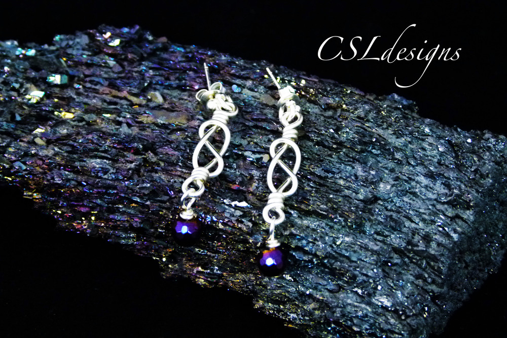 Celtic knot wirework drop earrings.jpg
