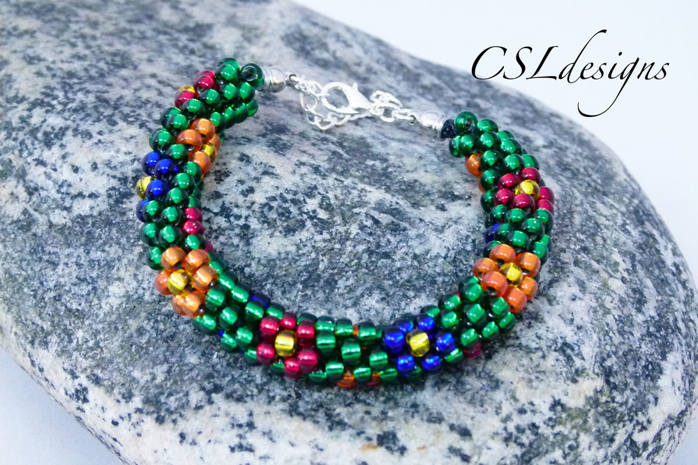 Flower beaded kumihimo bracelet thumbnail.jpg