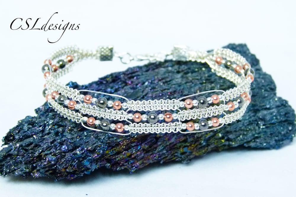 Multi knot triple row wire macrame bracelet thumbnail.jpg