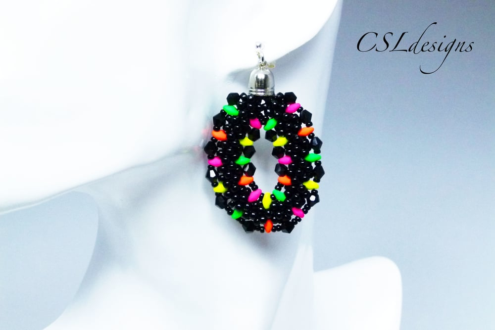 Beaded kumihimo earrings with superduos thumbnail.jpg