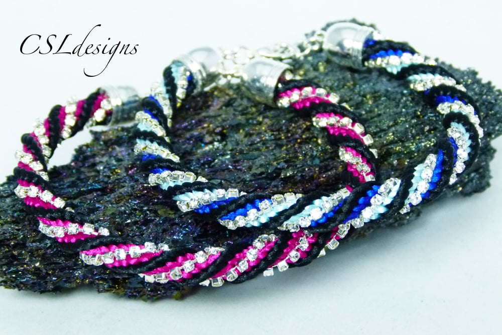 Twisted kumihimo braid with rhinestone chain thumbnail.jpg