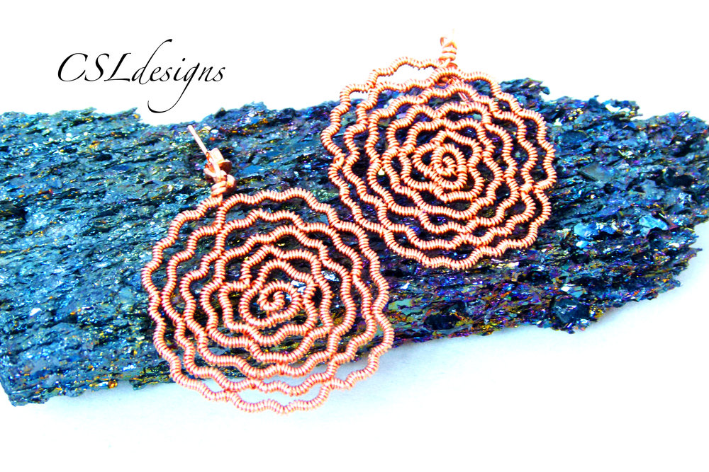 Flat wirework rose earrings thumbnail.jpg