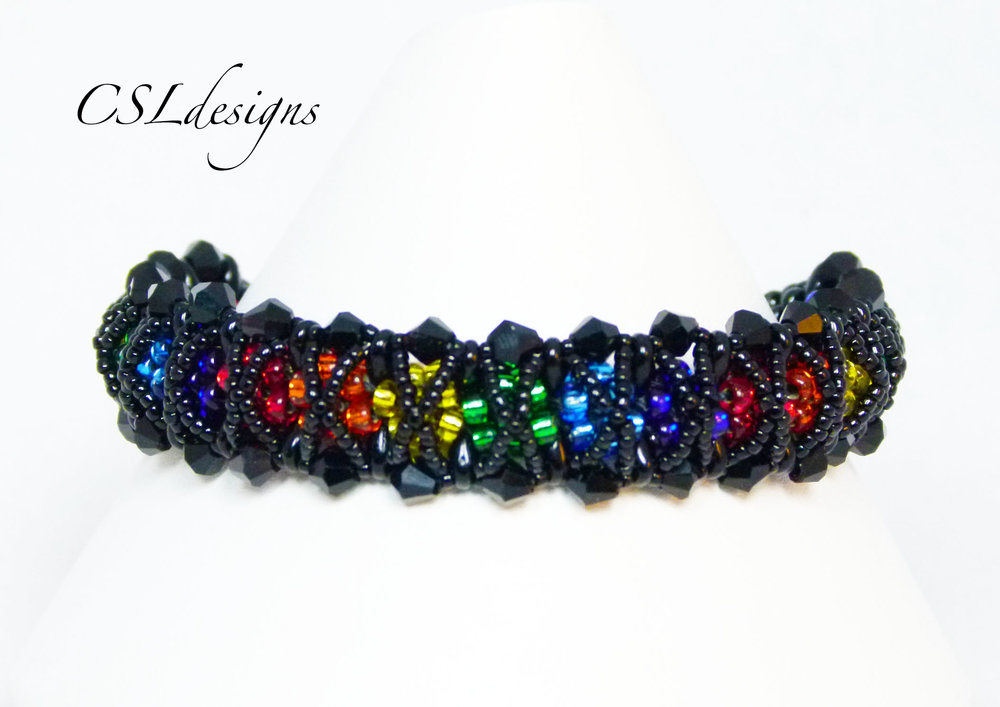 Rainbow kisses beaded kumihimo bracelet thumbnail.jpg