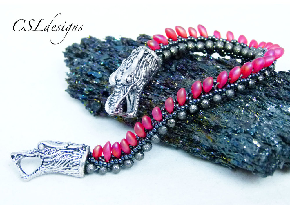 Dragon beaded kumihimo bracelet thumbnail.jpg