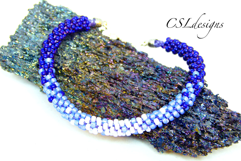 3 colour ombre beaded kumihimo bracelet thumbnail.jpg