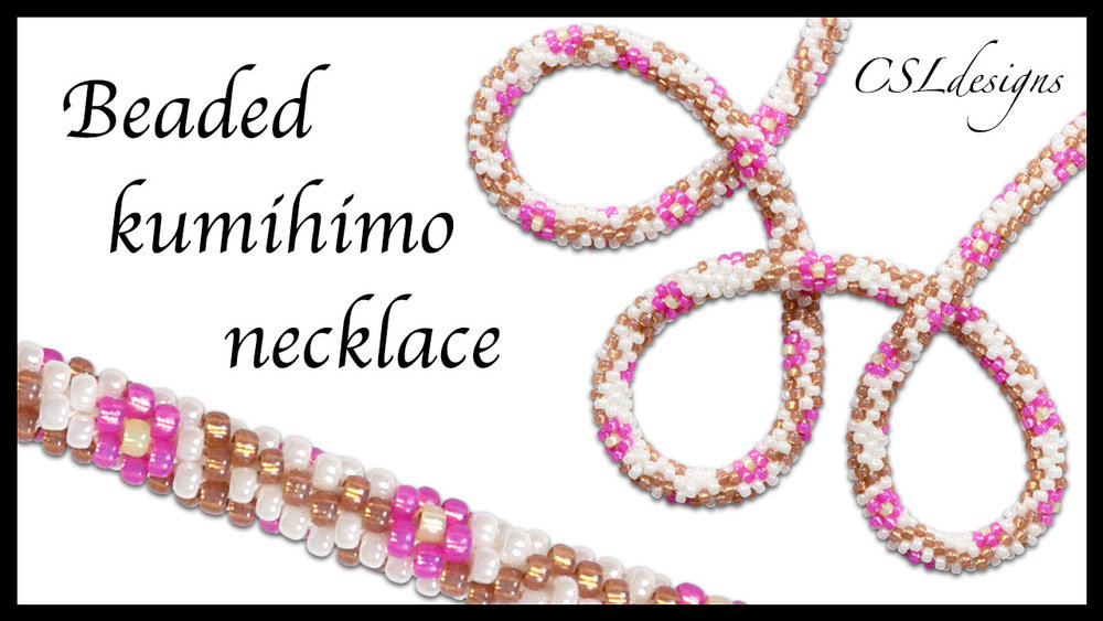 Cherry blossom vines beaded kumihimo necklace thumbnail.jpg