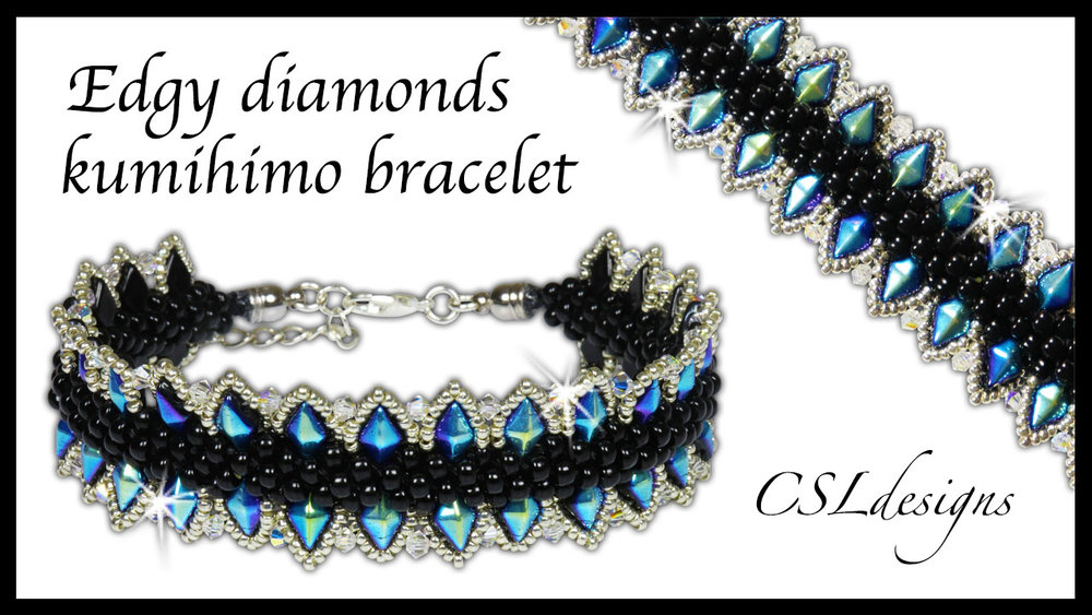 Edgy diamonds beaded kumihimo bracelet thumbnail.jpg