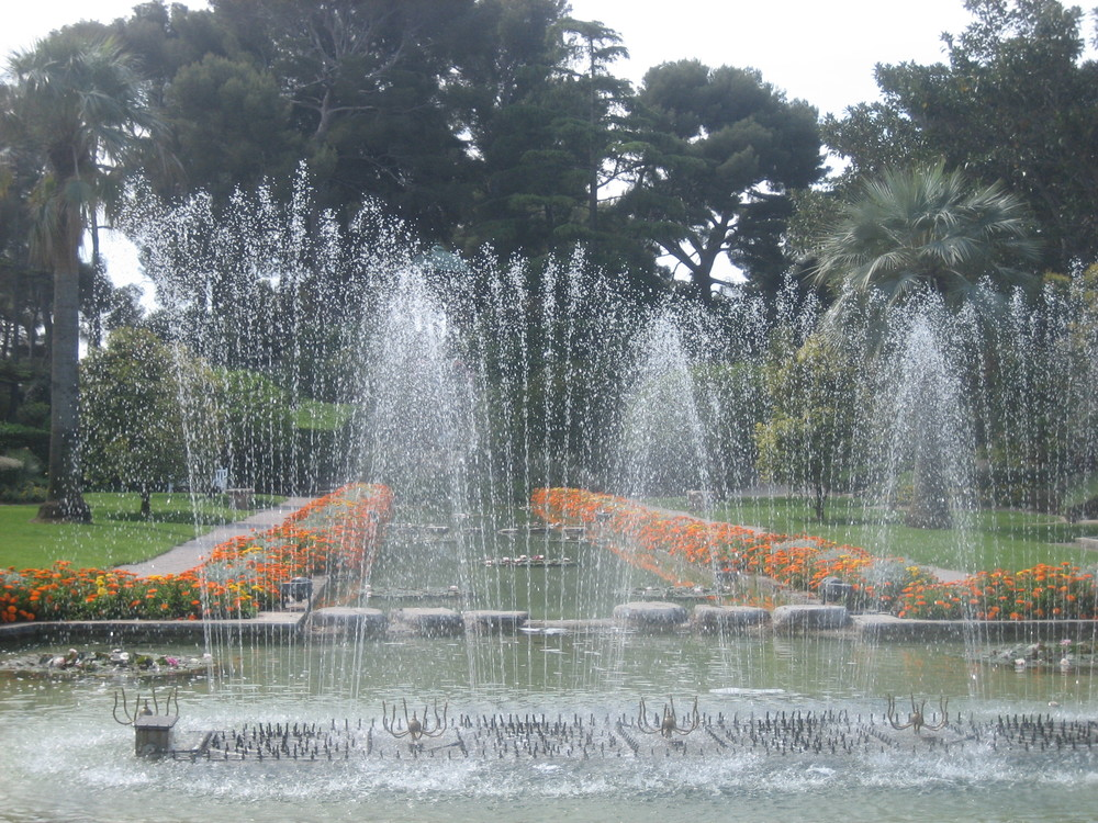 Time To Refresh and ToReinvent Yourself (Ephrussi de Rothschild Villa and Gardens, St. Jean-Cap Ferrat, France)