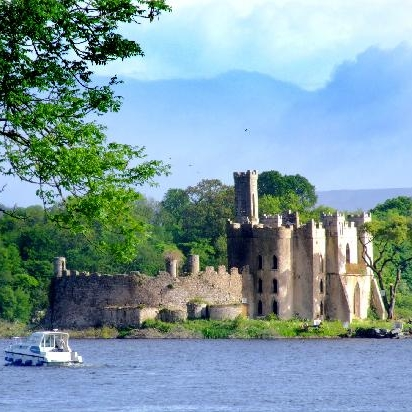 Lough-Key-Castle-Island