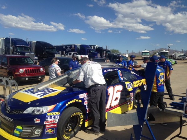 #16 NAPA Car goes through inspection.jpg