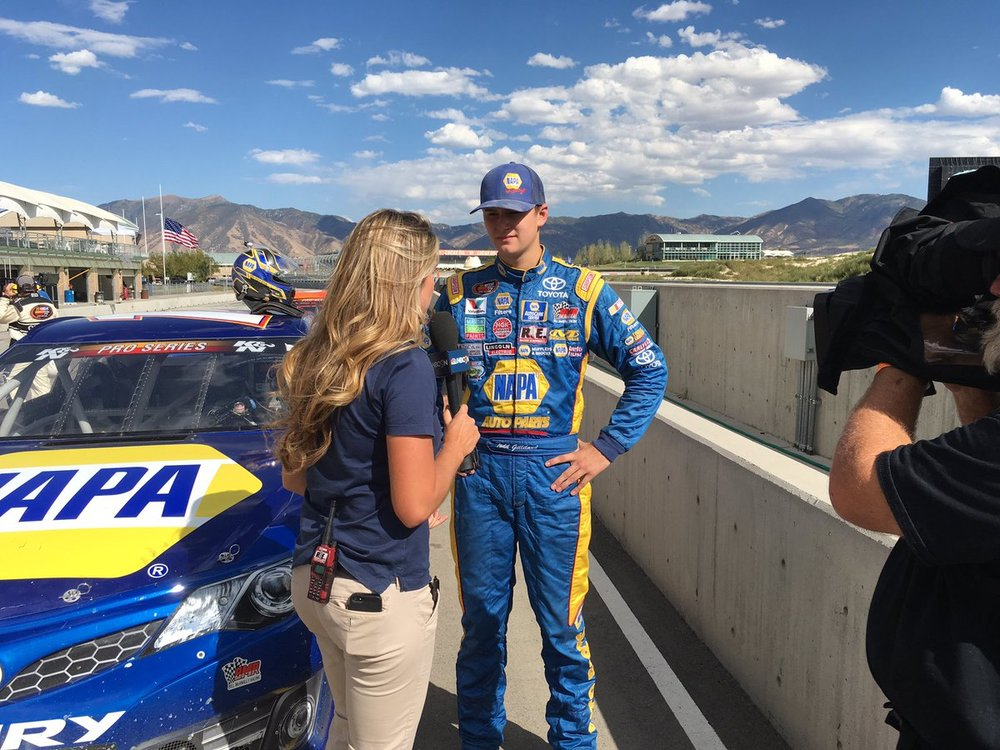 Another runner-up finish for @ToddGilliland_ in #KNWest double header at @UtahMotorCampus.jpg