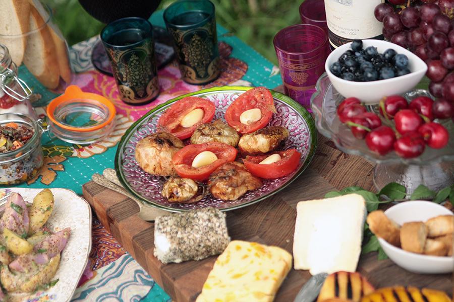 Family Gathering Gourmet Picnic