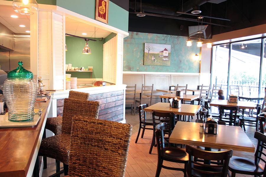 The Rotisserie Shop - Inside the Restaurant