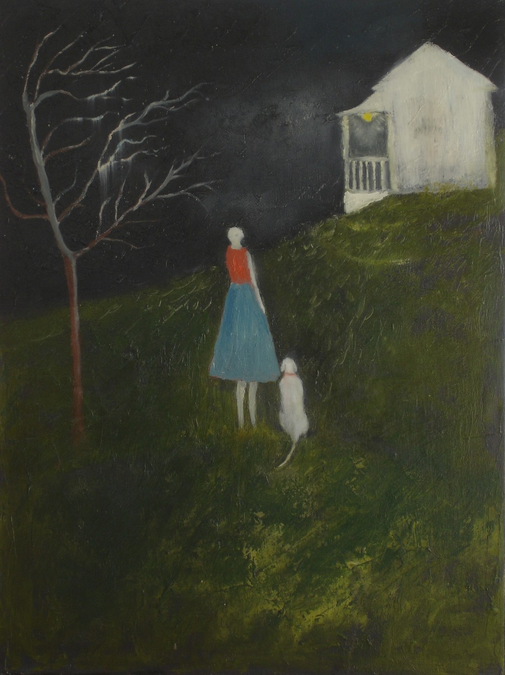 Porchlight by Jeanie Tomanek