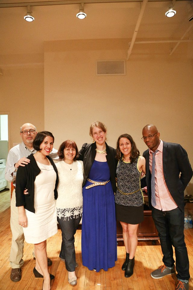Our all-star auction curators and contributors — with Mandy Goldberg, Joanna Gurin, Rebecca Goldberg and Ken Daniels