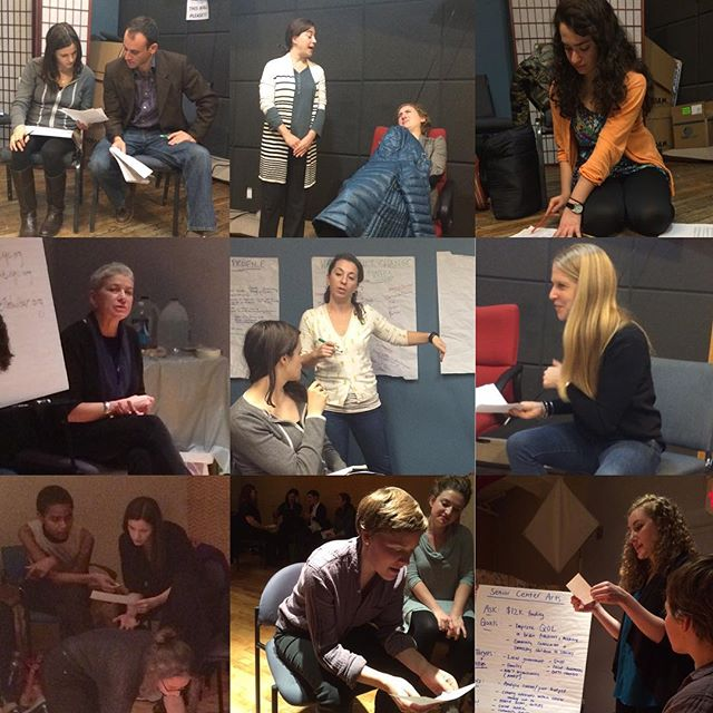 "Some great moments from this week's two-part ""Arts Education in Action"" conference with @centerforartsed and some marvelous #ArtsEducators & #TeachingArtists. We had a great time and send a special thank you to all our participants for bringing your creativity and energy to the conference. Stay tuned for what we have planned for 2016 - and, as always, feel free to pitch us some ideas for the new year!  #ArtCommunity #ArtsAction #BetheChange #NYCArt #NYCWorkshops #Poetry #AppliedDrama #Music #Art"