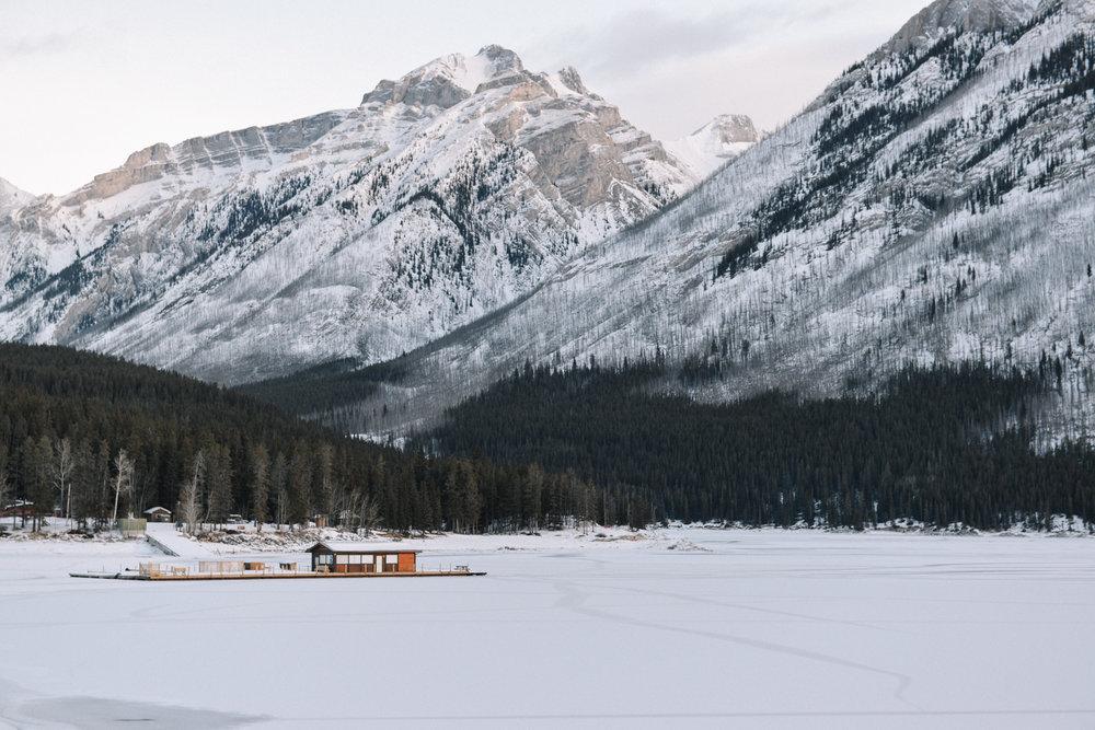 Banff, Canada - December, 2015