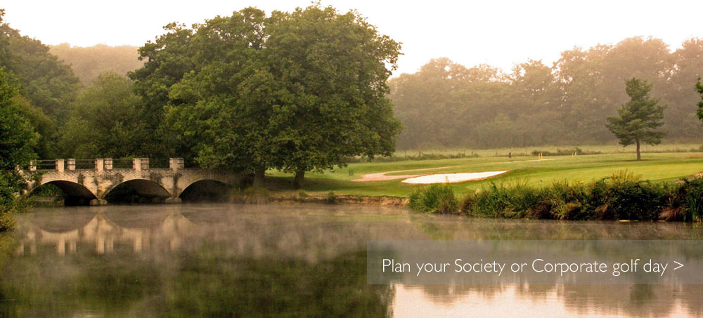 Society and Corporate Golf
