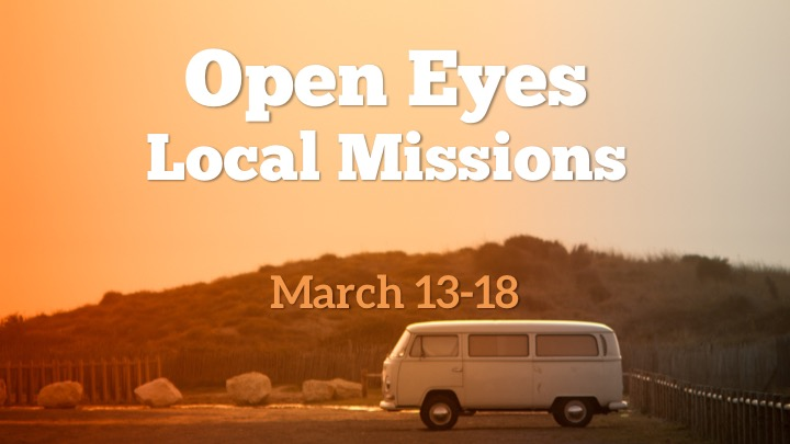 Come serve in the Houston area over the week of spring break! Sign-up today using this form to connect.