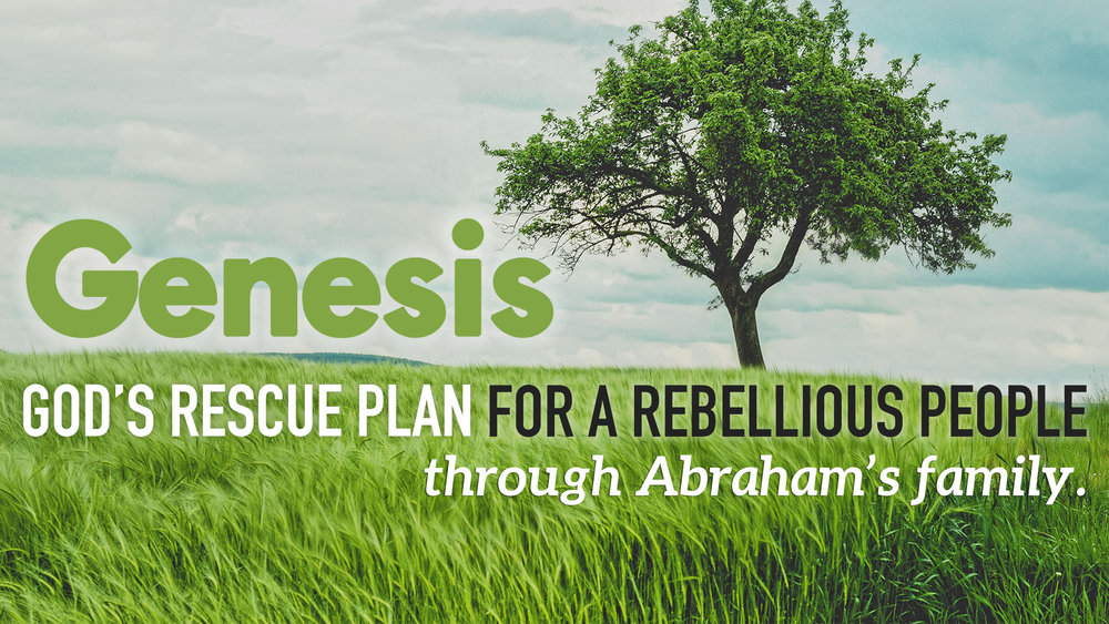 Genesis: God's Rescue Plan For A Rebellious People
