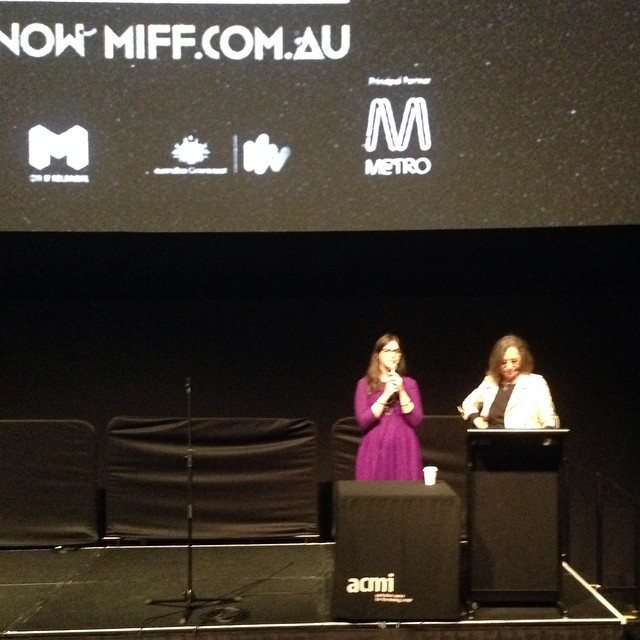 We are thrilled with the success of #shesbeautifulwhenshesangry's screenings at the Melbourne International Film Festival (@miff). 2 soldout shows and then a bonus screening which also soldout! Also just announced; we were in the top 10 docs for this year's audience awards.  Here is  SBWSA team-member @cestnormal A'ing  Q's at the screening. She's super excited to get started on the Aussie Story. #uppitywomenunite #herstory