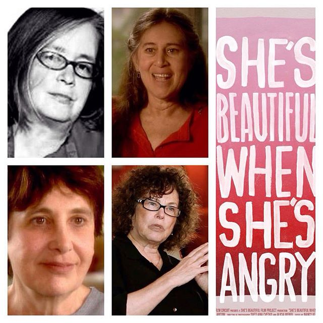"""One of the year's best films"" (@villagevoice) #ShesBeautifulWhenShesAngry is coming back to NYC this Sun 8/16 4:30P at Symphony Space in UWS, with a Q&A featuring film subjects & feminist activists/legends Susan Brownmiller, Carol Giardina & Marilyn Webb, and producer Nancy Kennedy too! Tickets: bit.ly/SBWSAtickets 👯👯👯 #feminism #feminist #womeninfilm #uws #film #documentary #fem2"