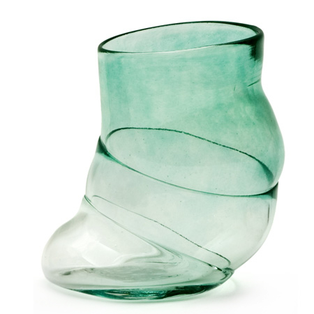 Bubblelicious vannglass grønn