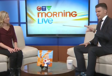 Trina on CTV Morning Live