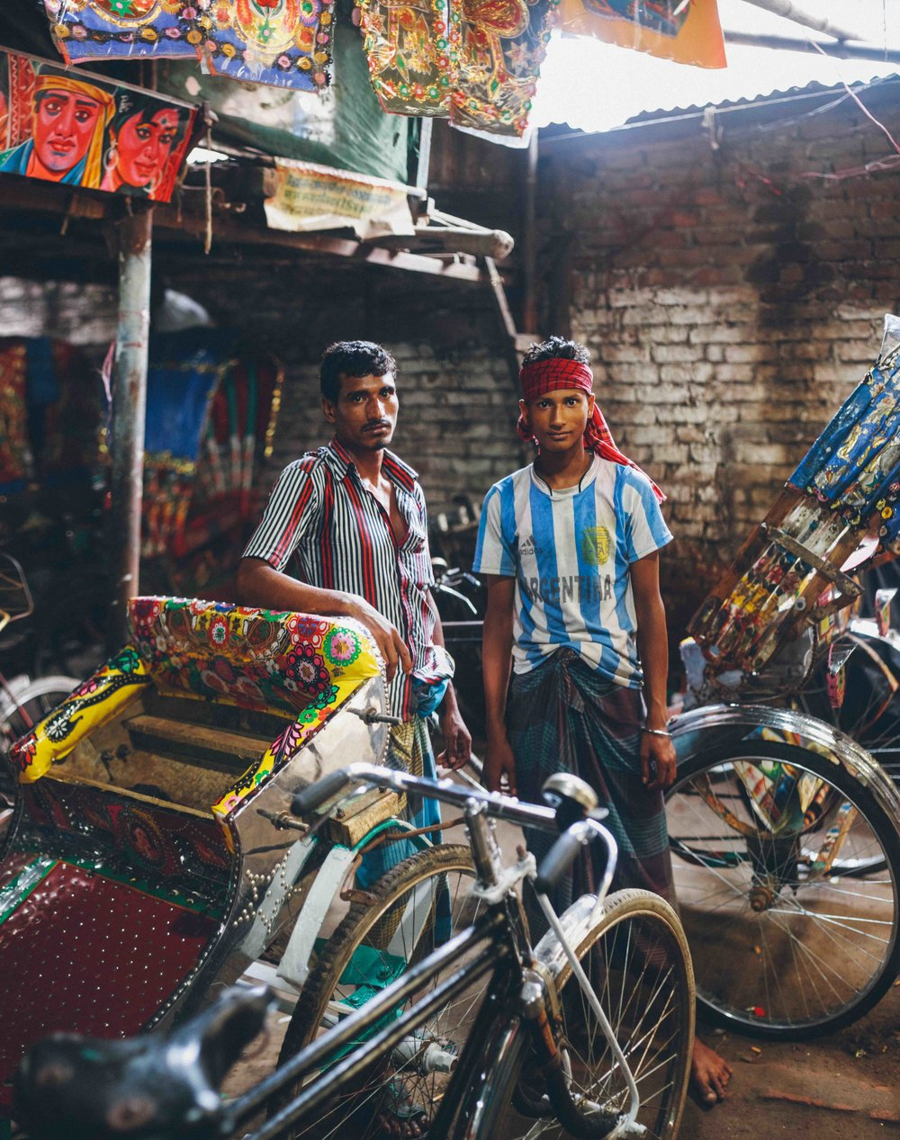 """Takka's Technicolour Rickshaws."""