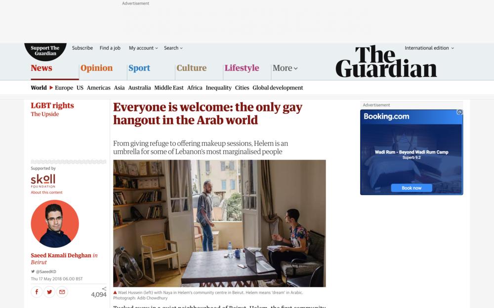 Guardian, May 2018