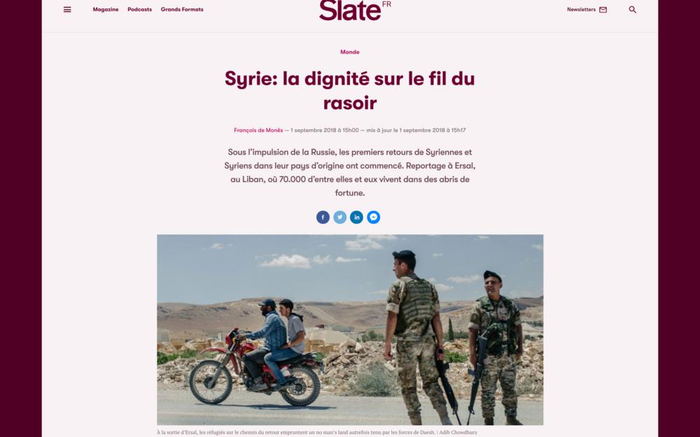 Slate [Fr]. September 2018