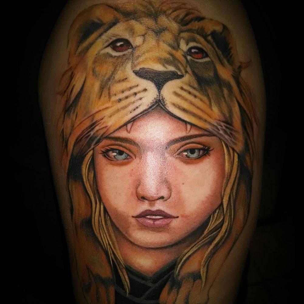 Kimi-Ledger-Sacred-Lotus-Tattoo_LionHead.jpg