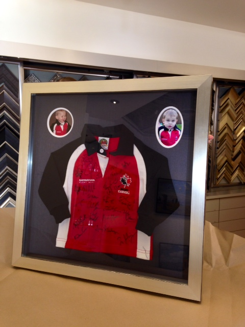 Olympic Canadian Polo Framed with Signatures