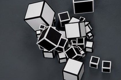 Jenn DePalma, Detail from 17 Cubes, 2014. Video, running time approx. 25 minutes. Courtesy of G Fine Art.