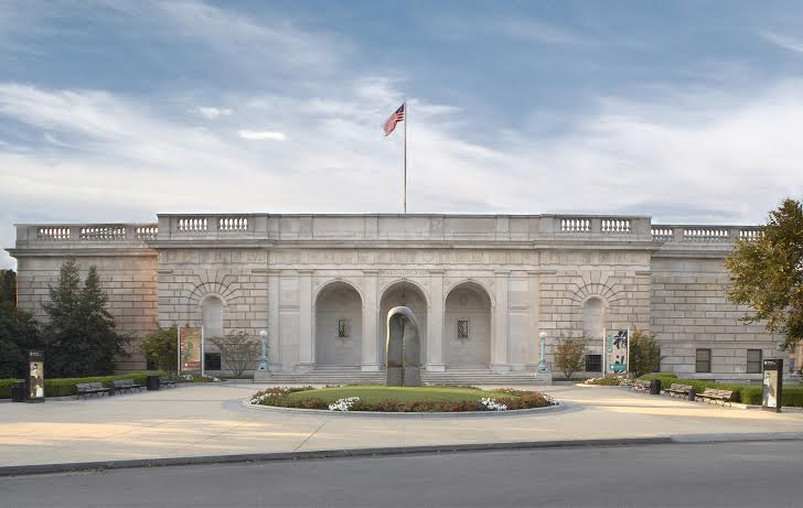 Photo of the Freer Gallery of Art by a Freer and Sackler Galleries staff photographer