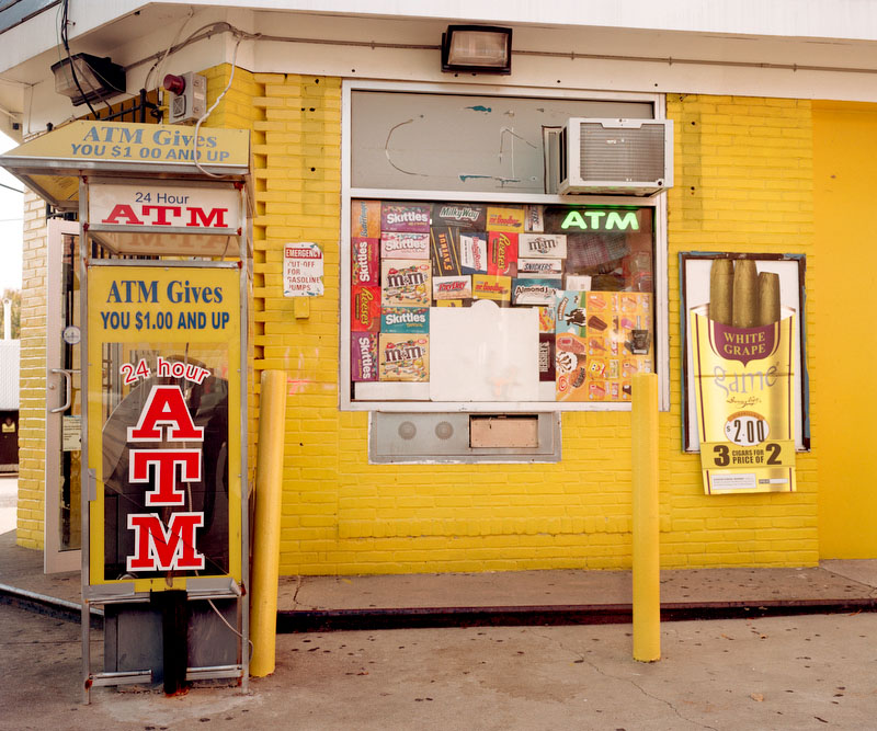 Photo © Susana Raab, ATM Gives You $1 and Up, Martin Luther King Jr Ave SE, Washington, DC 2010