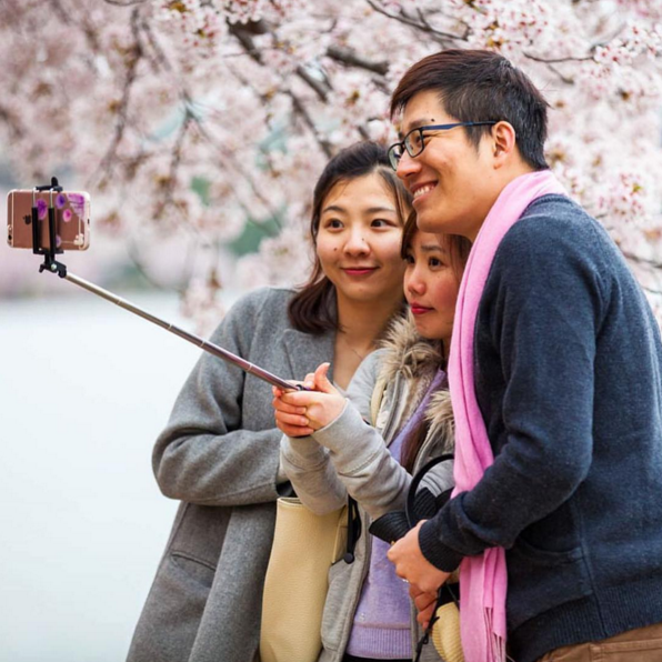 INSTAGRAM OF THE MONTH: This past month, the Cherry Blossoms bloomed in a fabulous display of petals, did you get down to the Tidal Basin to take some photos? Don't forget to tag your pictures with #FotoDC Photo by: @NegativeSpacePhoto