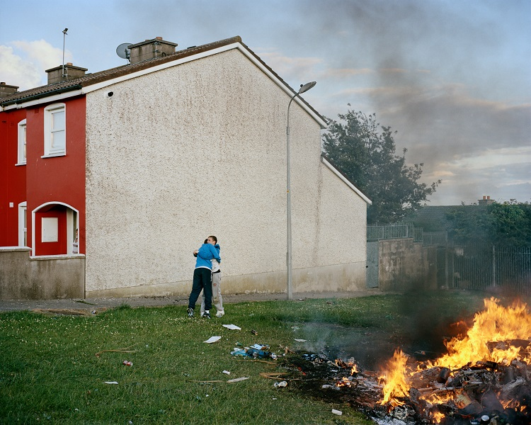 Doug DuBois, Bonfire I, Russell Heights, Cobh, Ireland, 2011 © Doug DuBois