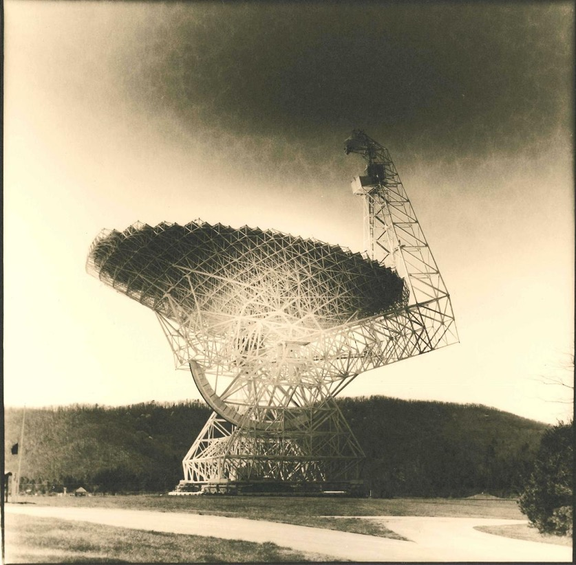 Photo by Andrew Currie | Greenbank Radio Telescope #1 | Silver Gelatin Print, 2014